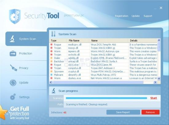 Security Tool  Scareware Package