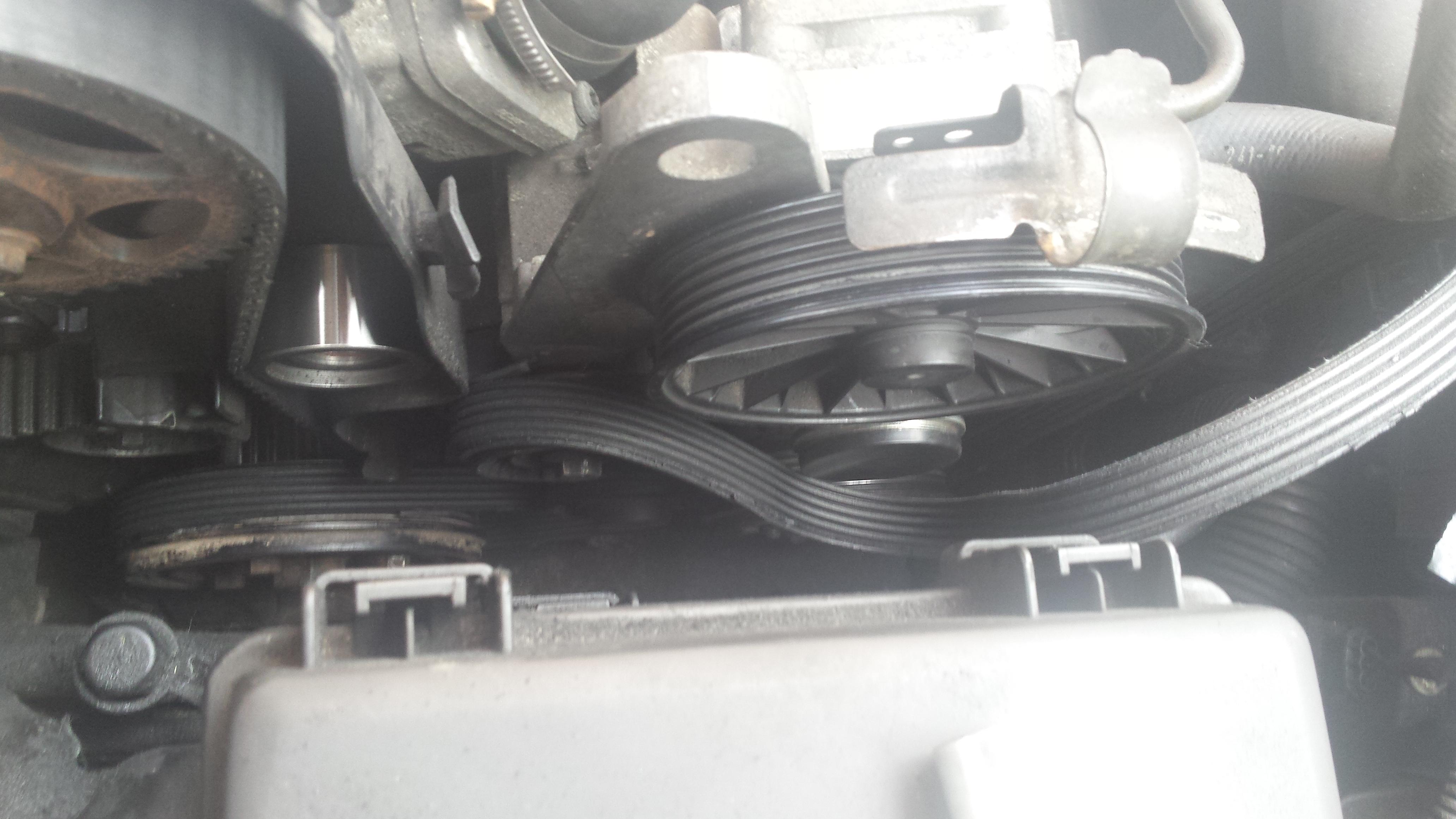 Volvo S60  Overrun Alternator Pulley